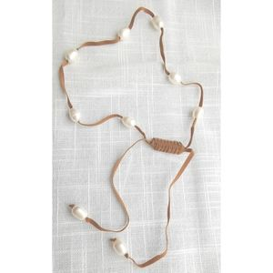 New, freshwater pearl adjustable necklace